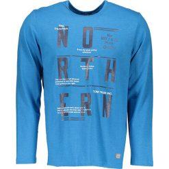T-shirty męskie z nadrukiem: Koszulka w kolorze niebieskim
