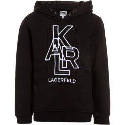 Bejsbolówki męskie: KARL LAGERFELD Bluza z kapturem schwarz