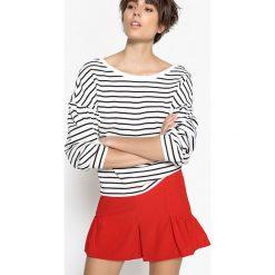 Bluza z czystej bawełny. Szare bluzy damskie marki La Redoute Collections, m, z bawełny, z kapturem. Za 125,96 zł.