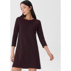 Sukienka z lampasami - Bordowy. Czerwone sukienki z falbanami House, m. Za 79,99 zł.