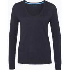 Swetry klasyczne damskie: Marc O'Polo – Sweter damski z dodatkiem kaszmiru, niebieski