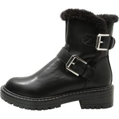 Even&Odd Botki black. Czarne buty zimowe damskie Even&Odd, z materiału. W wyprzedaży za 136,95 zł.