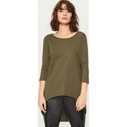 Bluzki, topy, tuniki: Asymetryczna koszulka – Khaki