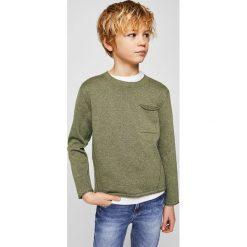 Swetry chłopięce: Mango Kids – Sweter dziecięcy Peter 110-164 cm