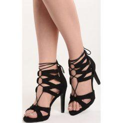 Rzymianki damskie: Czarne Sandały Marcelo