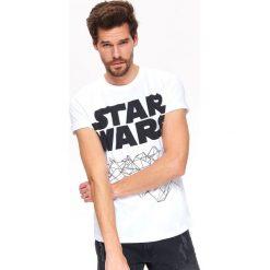 T-SHIRT STAR WARS. Szare t-shirty męskie Top Secret, na lato, m, z motywem z bajki. Za 69,99 zł.