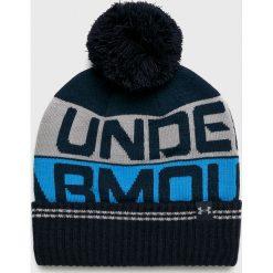 Under Armour - Czapka. Szare czapki zimowe męskie Under Armour, z dzianiny. Za 89,90 zł.