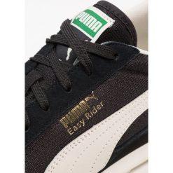 Puma EASY RIDER CLASSIC Tenisówki i Trampki black/whisper white/gold. Czarne tenisówki męskie Puma, z materiału. W wyprzedaży za 251,30 zł.