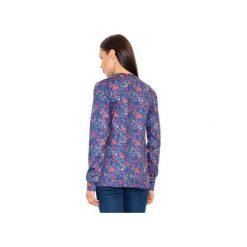 Bluza M541 Wzór 58. Szare bluzy damskie marki FIGL, m, z bawełny, eleganckie, z asymetrycznym kołnierzem, z długim rękawem. Za 149,00 zł.