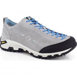 Skórzane buty trekkingowe w kolorze szarym. Szare buty trekkingowe damskie marki Marco Tozzi. W wyprzedaży za 318,95 zł.