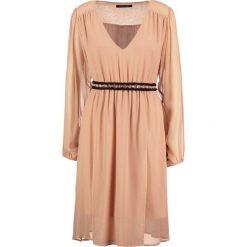 Sukienki hiszpanki: MARCIANO LOS ANGELES Sukienka letnia real brown