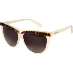 """Okulary przeciwsłoneczne damskie: Okulary przeciwsłoneczne """"BL205103"""" w kolorze brązowo-białym"""