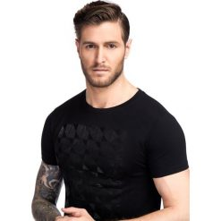 T-shirt BIAGIO TSCS000045. Czarne t-shirty męskie z nadrukiem Giacomo Conti, na lato, m, z bawełny. Za 99,00 zł.
