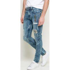 Only & Sons - Jeansy. Niebieskie jeansy męskie slim Only & Sons, z bawełny. W wyprzedaży za 99,90 zł.