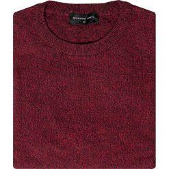 Sweter EDMONDO SWAR000214. Czerwone swetry klasyczne męskie marki Giacomo Conti, na jesień, m, z bawełny. Za 149,00 zł.
