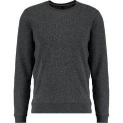 Swetry klasyczne męskie: Banana Republic BRUSHED WAFFLE CREW Sweter dark charcoal heather