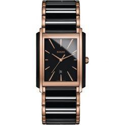 ZEGAREK RADO INTEGRAL. Czarne zegarki damskie RADO, ceramiczne. Za 8280,00 zł.