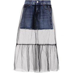 Długie spódnice: Topshop Petite Długa spódnica middenim