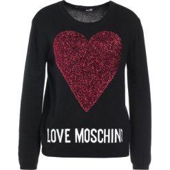 Swetry klasyczne damskie: Love Moschino Sweter black