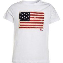 T-shirty chłopięce z nadrukiem: Polo Ralph Lauren FLAG Tshirt z nadrukiem white