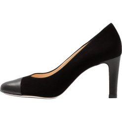 Högl Czółenka black. Czarne buty ślubne damskie HÖGL, z materiału. Za 599,00 zł.