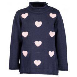 Blue Seven Dziewczęcy Sweter W Serduszka, 86, Niebieski. Niebieskie swetry dziewczęce Blue Seven. Za 79,00 zł.