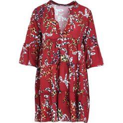 Bordowa Sukienka Underrated. Czerwone sukienki marki Born2be, na jesień, uniwersalny, z koszulowym kołnierzykiem, koszulowe. Za 79,99 zł.