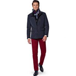 Kurtka Granatowa Mayos. Brązowe kurtki męskie pikowane marki LANCERTO, na jesień, m, ze skóry, casualowe. W wyprzedaży za 559,90 zł.