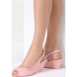 Różowe Sandały You Can Look. Czerwone sandały damskie vices, na koturnie. Za 69,99 zł.