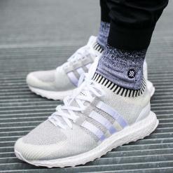 """Buty adidas EQT Support Ultra Primeknit """"Vintage White"""" (BB1242). Białe buty skate męskie Adidas, z materiału, adidas eqt support. Za 289,99 zł."""