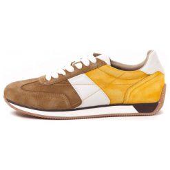 Trampki męskie: Geox Tenisówki Męskie Vinto 41 Żółty