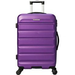 """Walizki: Walizka """"Arizona"""" w kolorze fioletowym – 40,5 x 58 x 24,5 cm"""
