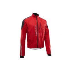 Kurtka przeciwdeszczowa na rower MTB ST 900 męska. Białe kurtki męskie przeciwdeszczowe marki KIPSTA, z elastanu. Za 199,99 zł.