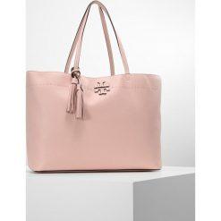 Tory Burch MCGRAW TOTE Torebka pink quartz. Czerwone shopper bag damskie Tory Burch. W wyprzedaży za 1078,35 zł.
