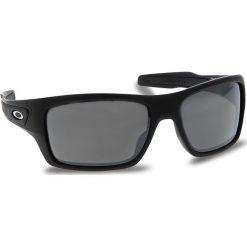Okulary przeciwsłoneczne OAKLEY - Turbine OO9263-4263 Matte Black/Prizm Black Iridium. Czarne okulary przeciwsłoneczne męskie aviatory Oakley, z tworzywa sztucznego. W wyprzedaży za 549,00 zł.