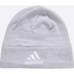 Adidas Performance - Czapka. Szare czapki zimowe męskie adidas Performance, na zimę, z dzianiny. W wyprzedaży za 39,90 zł.