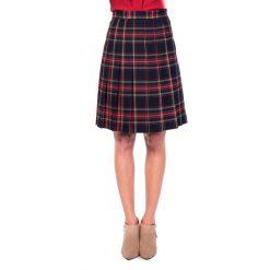 Spódniczki dziewczęce z falbankami: Plisowana spódnica w kratę BIALCON