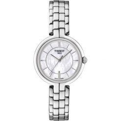 RABAT ZEGAREK TISSOT Tissot Flamingo T094.210.11.111.00. Białe zegarki damskie TISSOT, ze stali. W wyprzedaży za 1100,00 zł.