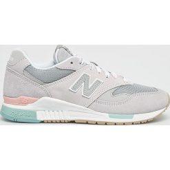 New Balance - Buty WL840RTN. Szare buty sportowe damskie marki New Balance, z materiału. Za 499,90 zł.