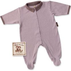 Pajacyki niemowlęce: Śpioszki w kolorze fioletowym