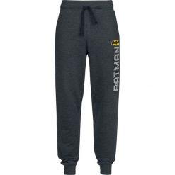 Spodnie dresowe męskie: Batman Logo Vintage Spodnie dresowe odcienie ciemnoszarego