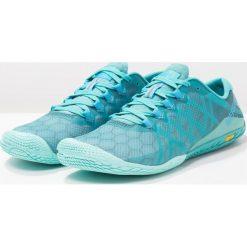 Merrell VAPOR GLOVE 3 Obuwie do biegania neutralne baltic. Niebieskie buty do biegania damskie marki Merrell, z materiału. Za 399,00 zł.