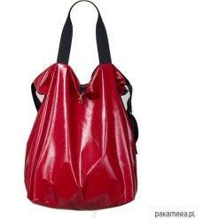 Dwustronna Torba TWIN Red Lust. Czerwone torebki klasyczne damskie marki Pakamera, ze skóry. Za 245,00 zł.