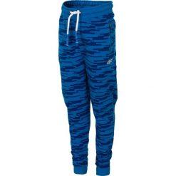 Odzież chłopięca: Spodnie dresowe dla małych chłopców JSPMD117 - niebieski
