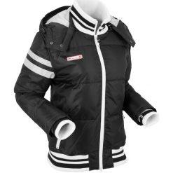 Kurtka outdoorowa bonprix czarny. Czarne kurtki damskie pikowane marki bonprix. Za 189,99 zł.