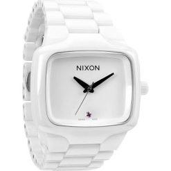 Zegarki męskie: Zegarek męski All White Nixon Ceramic Player A1451126