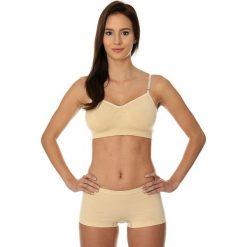Biustonosze sportowe: Brubeck Biustonosz Comfort Cotton beżowy r. 75B (BR00012A)