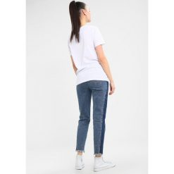 T-shirty damskie: Hype Tshirt z nadrukiem white/pink