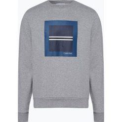 Calvin Klein - Męska bluza nierozpinana, szary. Szare bluzy męskie rozpinane marki Calvin Klein, m. Za 449,95 zł.