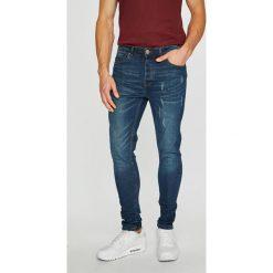 Brave Soul - Jeansy. Niebieskie jeansy męskie skinny Brave Soul. Za 169,90 zł.